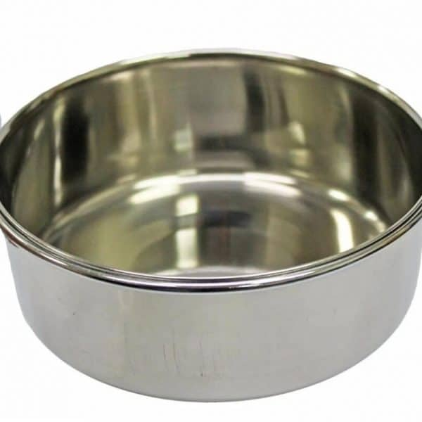 Stainless Steel Pet Bowl With Screw 5""